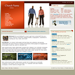 Church web template #100
