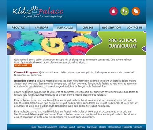 pre school template pre school website template pre school web template. Black Bedroom Furniture Sets. Home Design Ideas