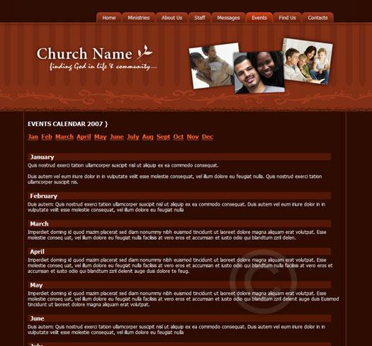 Church Template Theme