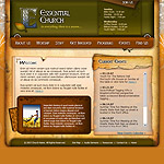 Church web template #22