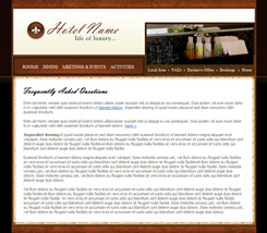 accommodations web template.