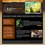 Church web template #81