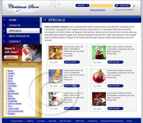unique website templates