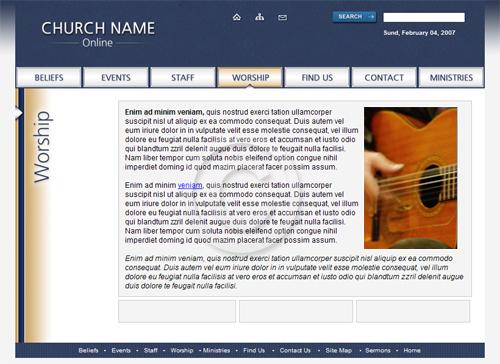 Church Website Themes